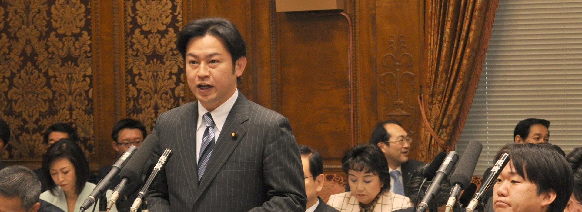 福岡たかまろ 参議院議員